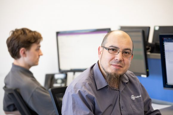 IT Support team. IT Support Services in Oxford and the UK. Firstline IT Solutions, Oxford.